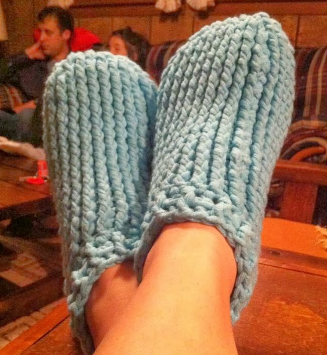 Free Crochet Slipper Boots Patterns For Adults : Crochet Patterns by Jennifer: Adult Chunky Slipper - Free ...