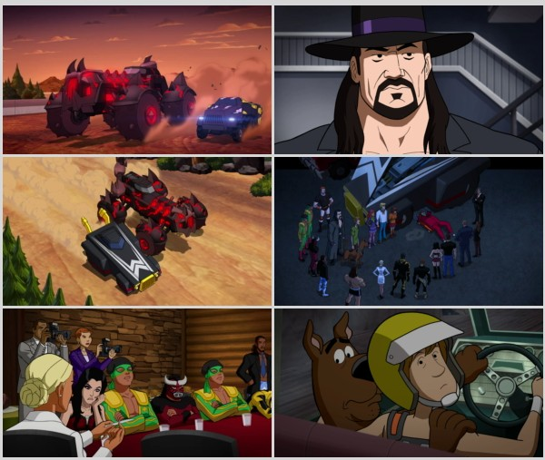 Scooby-Doo! and WWE: La maldición del demonio veloz (2016) BrRip 720p Latino