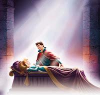 Cena de A Bela Adormecida, da Disney