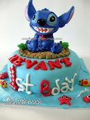 Stich Birthday Cake