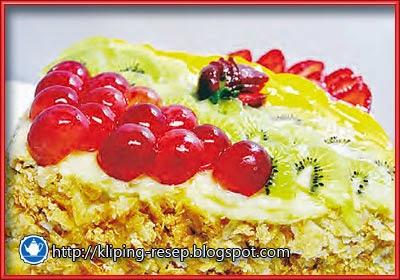 sajian natal christmas fruitcake ala chef sutrisno