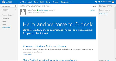 Email in outlook