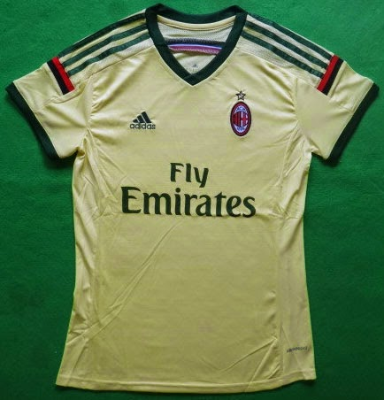 Jersey GO Ladies AC Milan Third 3rd 2014-2015