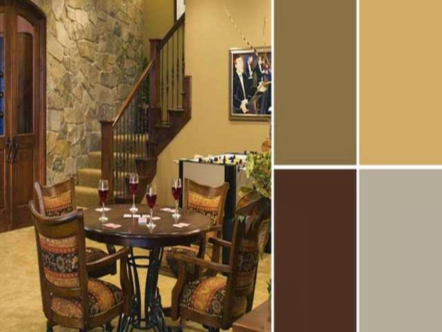 Rustic Wall Colors Paint