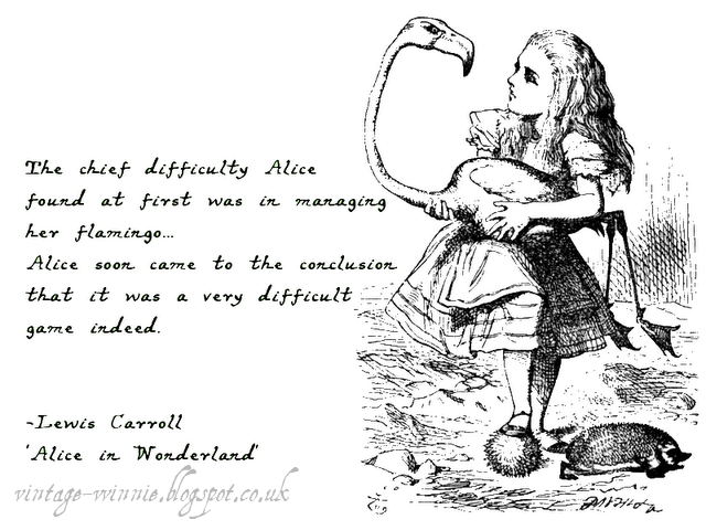 Alice In Wonderland Quotes Delectable Poems Quotes And Prose 'Alice In Wonderland The Queen's Croquet