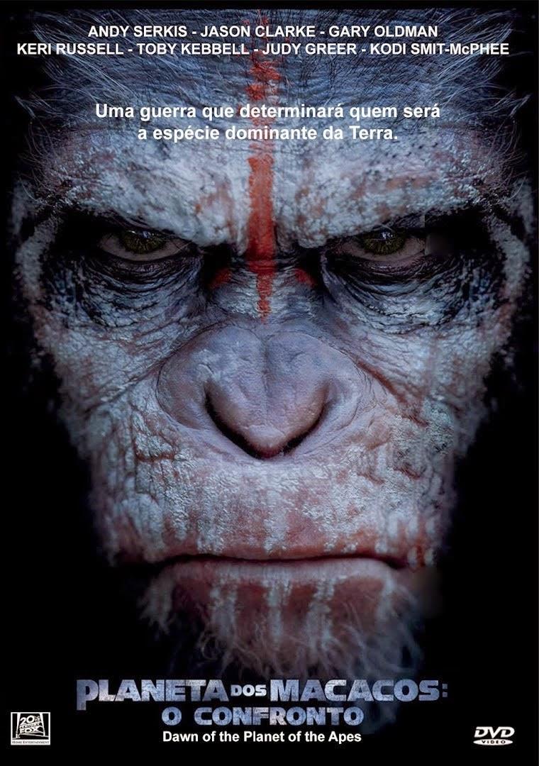 Planeta dos Macacos: O Confronto – Legendado (2014)
