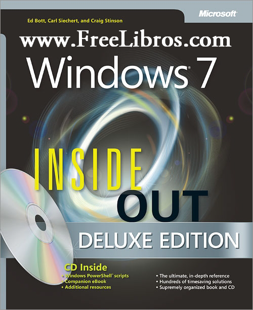 Windows 7 Inside Out, Deluxe Edition