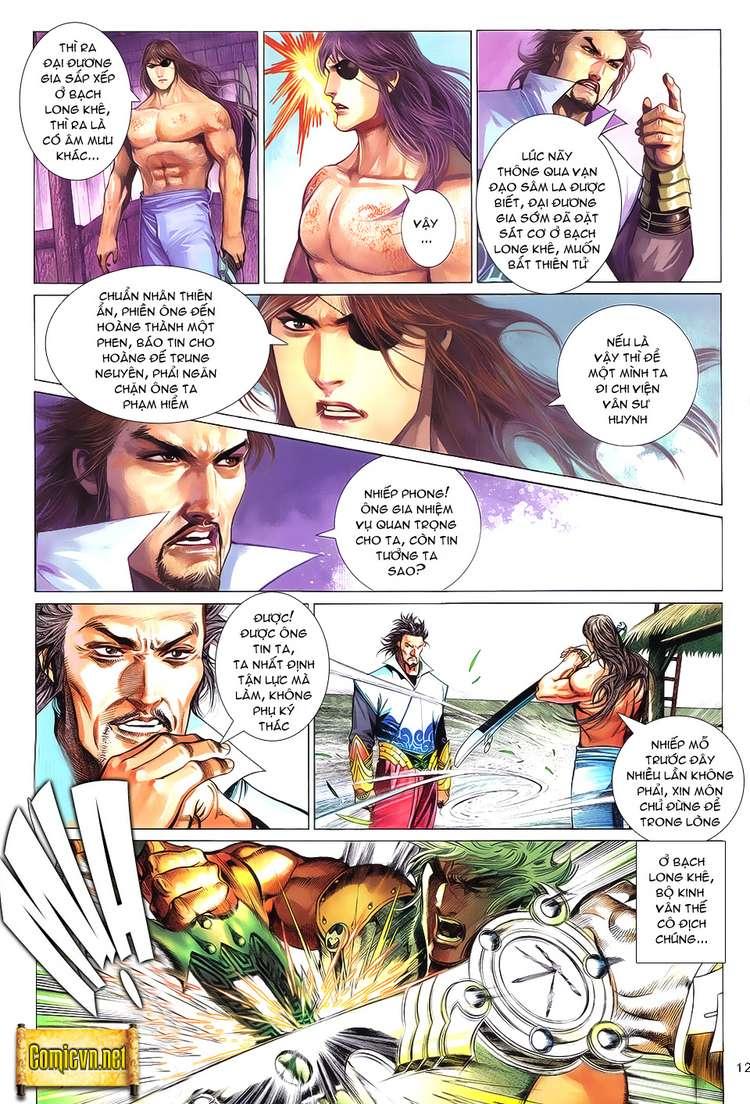 Phong Vân chap 621 Trang 12 - Mangak.info