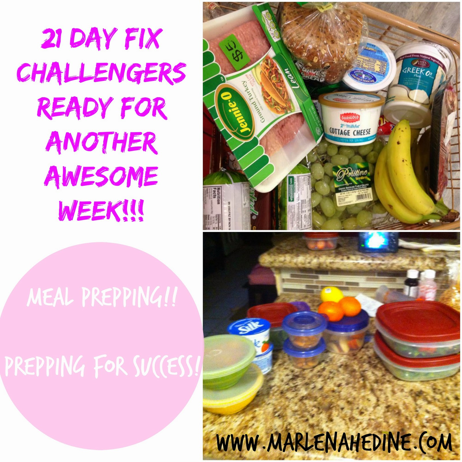 21 day fix challenge group, meal prep, plan for success