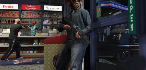 GTA 5 Robbing Stores Tip