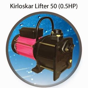 Kirloskar Lifter 50 (0.5HP) Online, India - Pumpkart.com