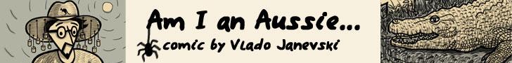 The Webcomic - Am I an Aussie by Vlado Janevski