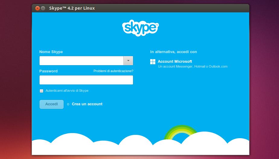 Итак, для того, чтобы запустить Скайп, нужно в отркрывшемся окошке ввести с