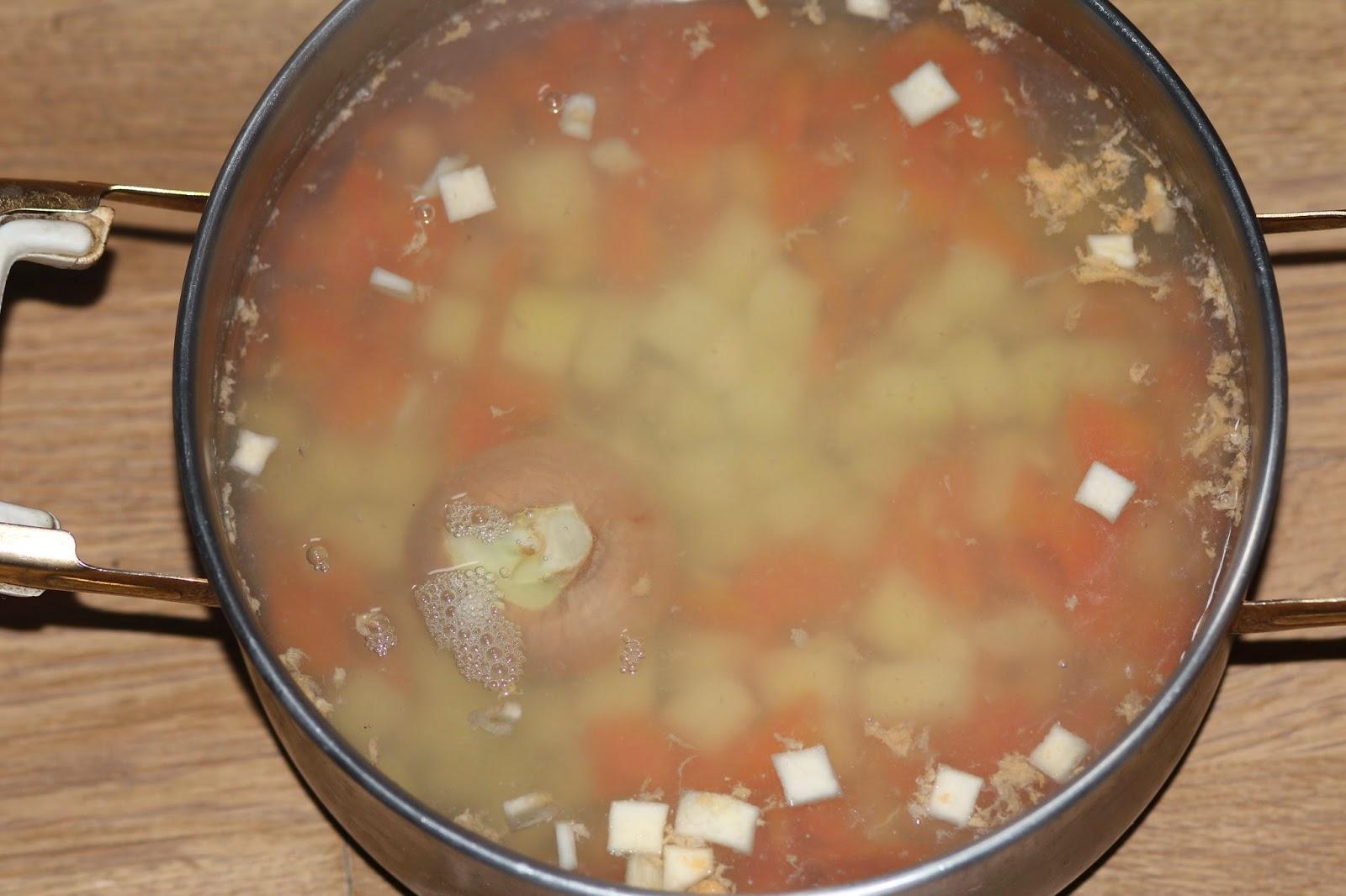 Грибной суп из сухих грибов с рисом рецепт