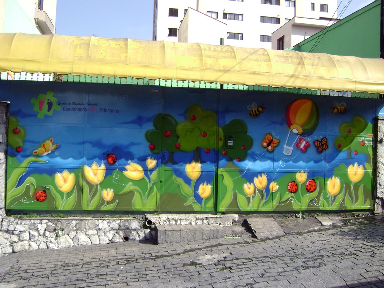 decoração de escola infantil