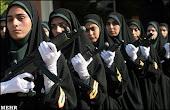 # Kagum! polis muslimat Iran.. #