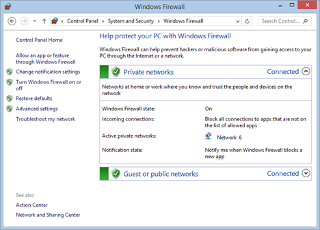 Penjelasan Singkat Mengenai Windows Firewall