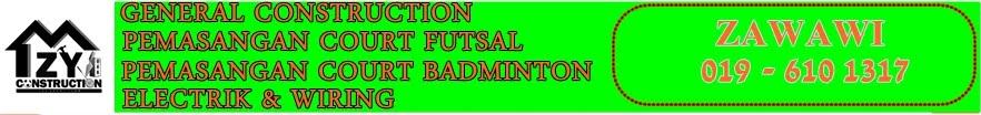 FUTSAL & BADMINTON COURT CONSTRUCTIONS