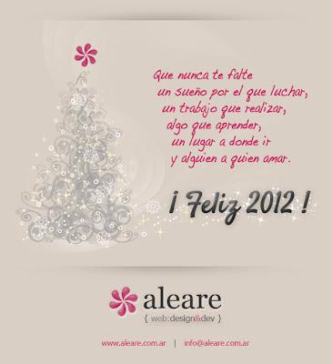 ¡ Feliz 2012 !