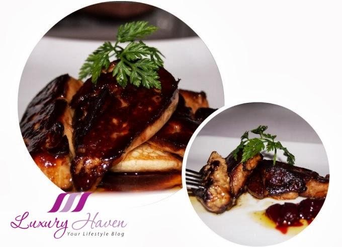 absinthe restaurant francais foie gras review