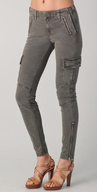 J Brand skinny cargo pants Katniss Hunger Games