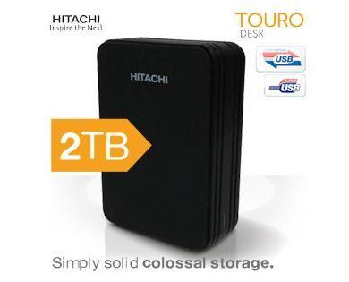 Hitachi Touro Desk 2TB bei iBood für 105,90 Euro