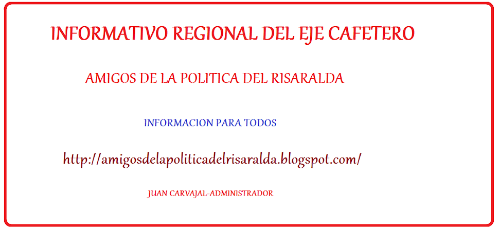 INFORMATIVO REGIONAL DEL EJE CAFETERO