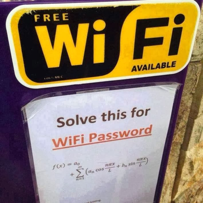 Free Wifi Password