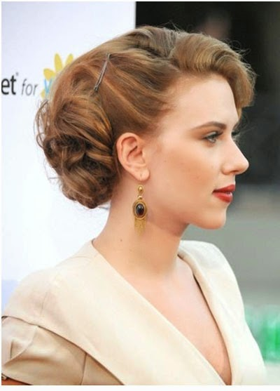 easy professional updo, simple professional updo