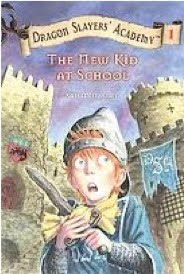 bookcover of New Kid At School (DRAGON SLAYERS' ACADEMY)