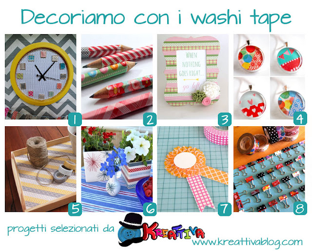 16 idee per decorare con i washi tape [raccolta]