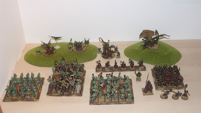 A video battle report, Empire vs Orcs & Goblins, 2500pts, Warhammer Fantasy Battle 8th Ed.