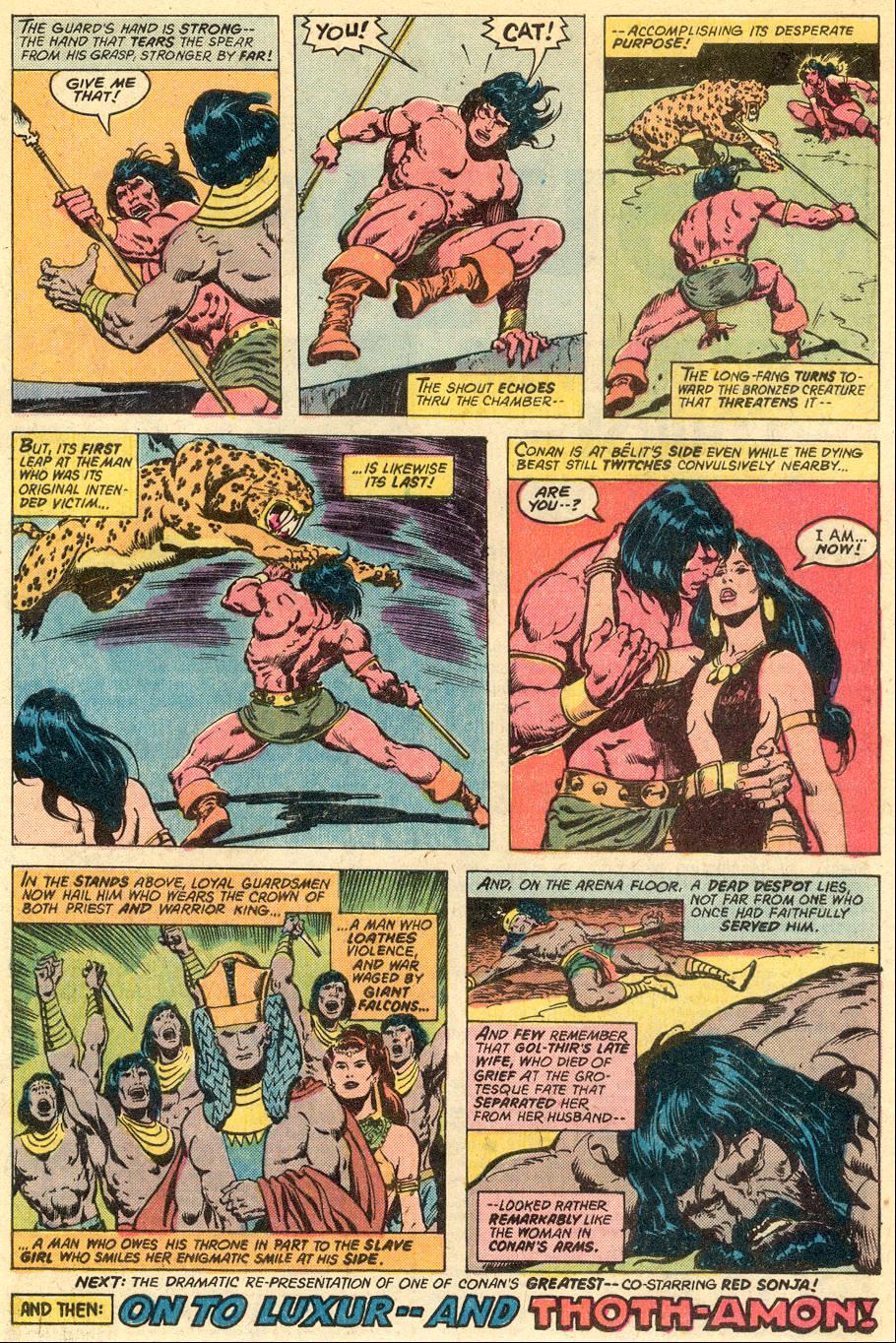 Conan the Barbarian (1970) Issue #77 #89 - English 18