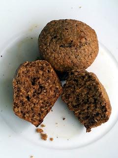 Muffiny owsiano-żytnie z cynamonem