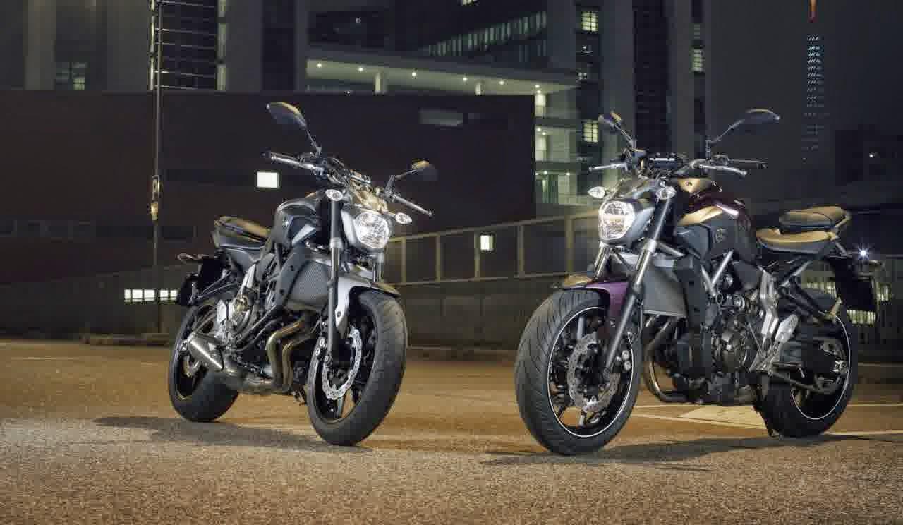 Gambar Yamaha MT07 dan Yamaha MT09