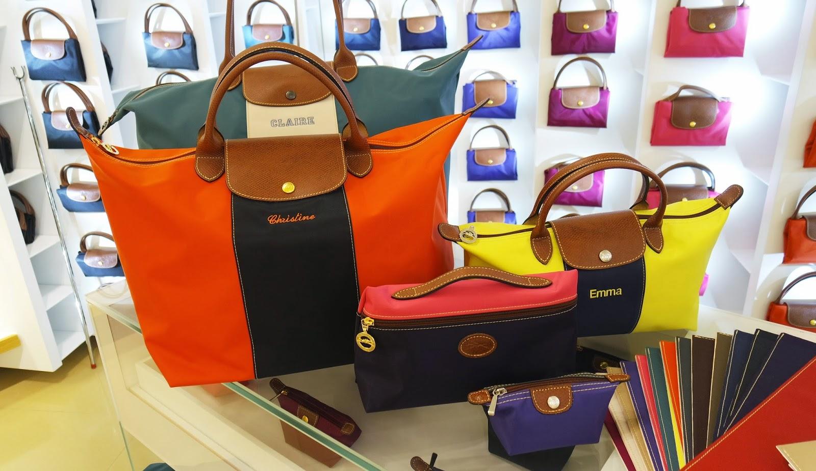 Longchamp Embroidered Bag