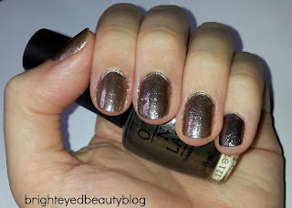 Swatch of The World Is Not Enough nail polish from the Skyfall Collection by OPI.
