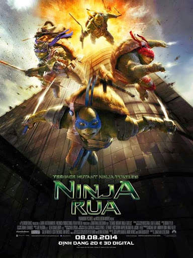 Xem Phim Ninja Rùa 2014