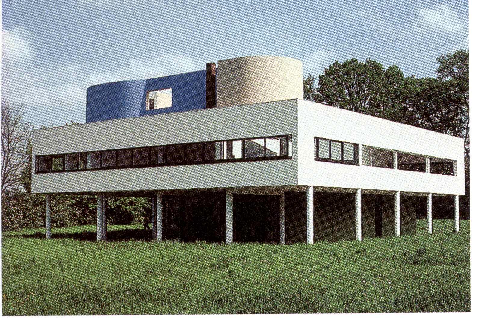 Populaire Architecture moderne, 3e, maquettes | garrus art LN97