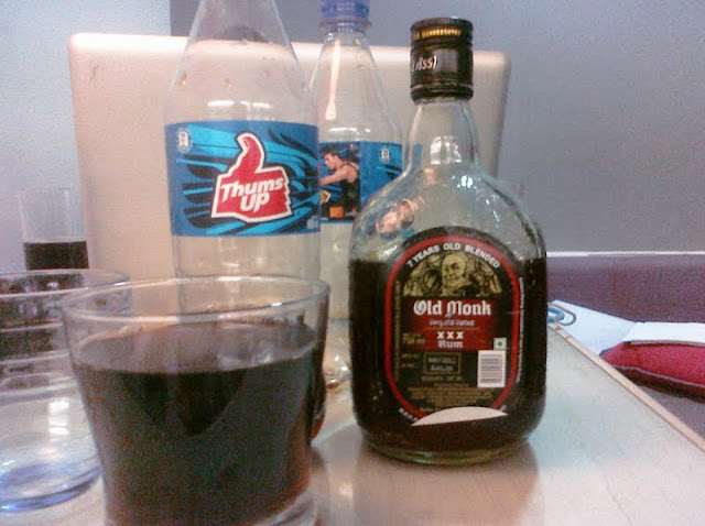 India Day 34: Old Monk and New Year   Lawrence Kao Blog