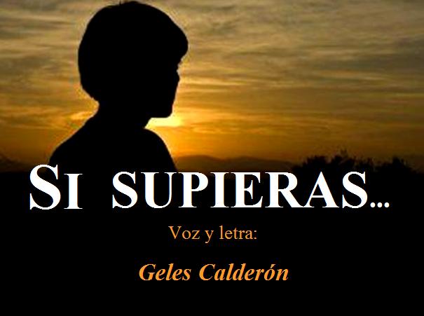 """""""SI SUPIERAS..."""""""