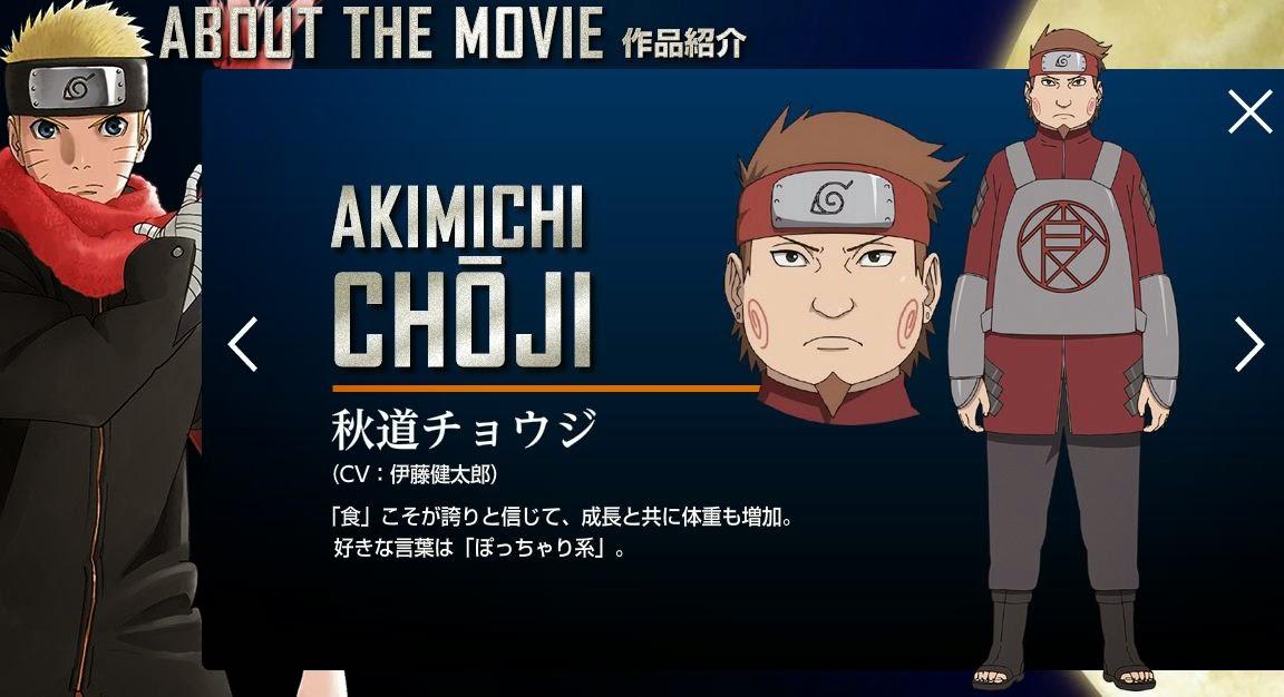 [News e Opiniões] Naruto - The Last Movie Chouji