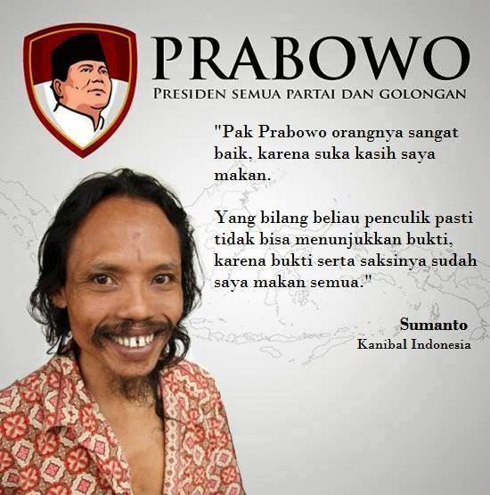 Sumanto Pendukung Prabowo