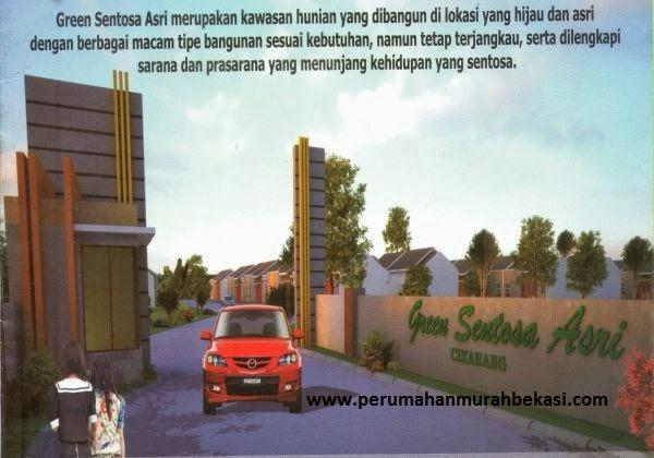Rumah Subsidi  Cikarang Bekasi | Green Sentosa Asri