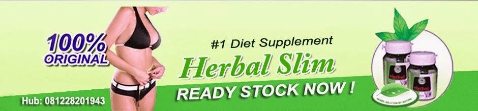 Obat Pelangsing Tubuh Herbal Slim Pelangsing Badan Super Alami