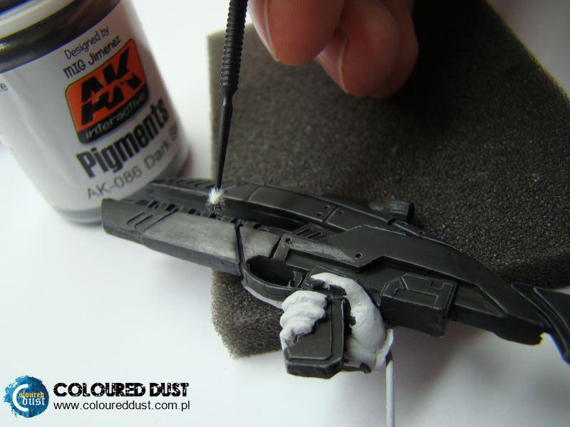 """AK Interactive """"Dark Steel"""" pigment"""