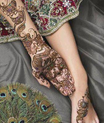 Pakistani Eid Henna Mehndi Designs 2013