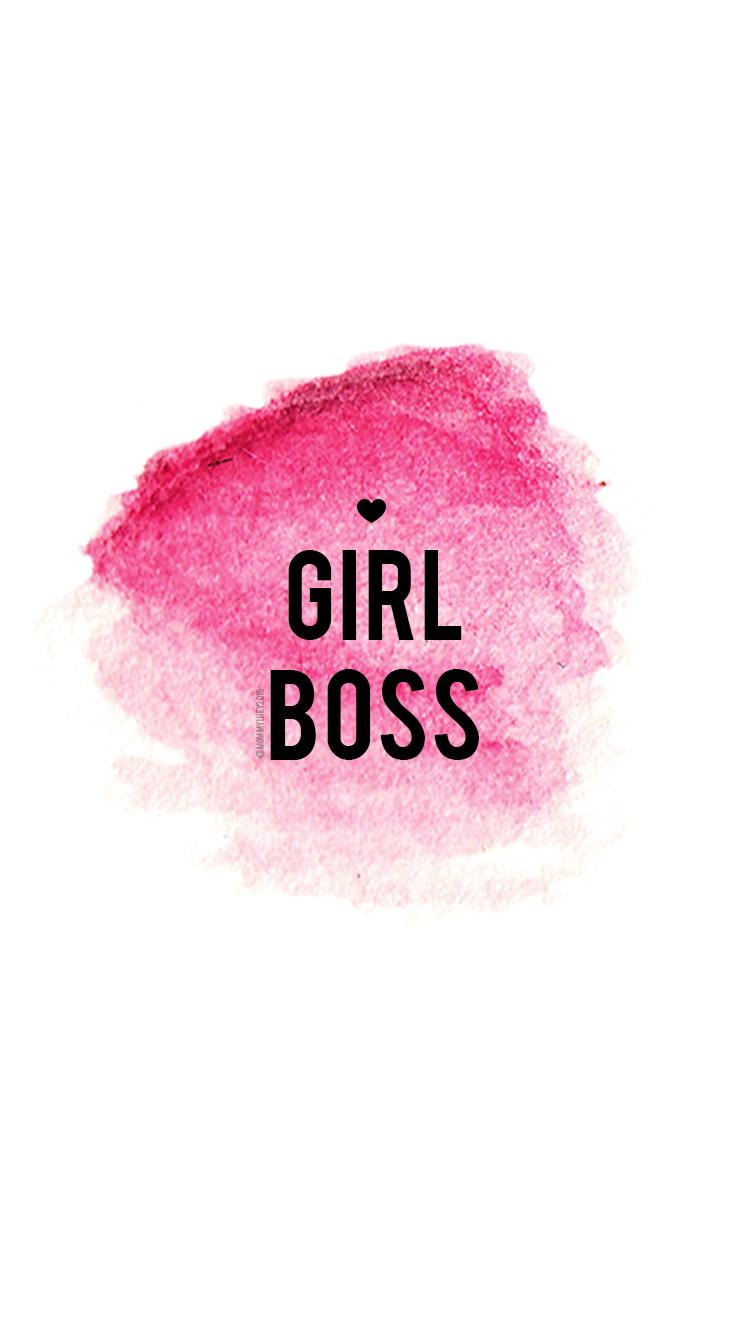 Girl Boss Free Wallpaper