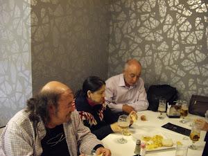 Con Seba, Paco, Pilar, Ana...