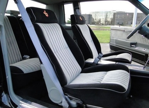 All about muscle car overview of the development of the - 1987 buick grand national interior ...